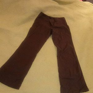 Banana Republic Martin Fit Brown pinstripe Flares